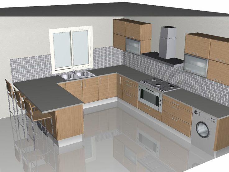 cozinha peninsula - Pesquisa Google