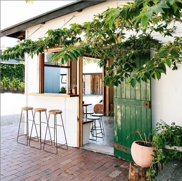 From the courtyard outside Woods in Bangalow. Photo via