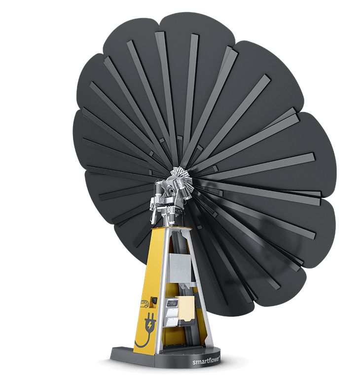 Power your home with clean solar power from smartflower, the most efficient and stunning solar solution in the world.