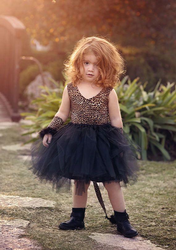 935479e788 Cheetah Girl Tutu, tiger tutu costume,Leopard Halloween Costume, Tutu Cute  tiger Costume
