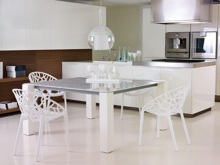 Les Meilleures Images Du Tableau Idées Déco Alterego Sur - Table 140x140 avec rallonge pour idees de deco de cuisine