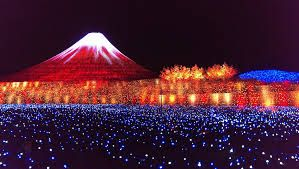 Illuminations at Mie Prefecture's Nabana no Sato