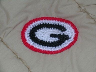 "University of Georgia ""G"" - CROCHET"