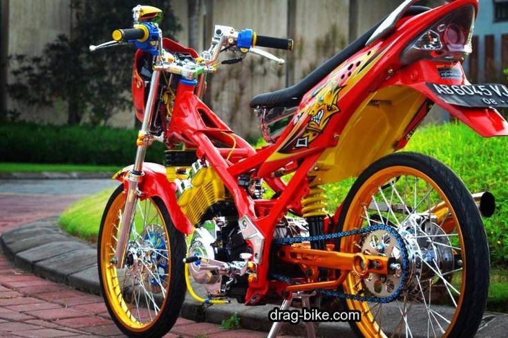 Foto Motor Satria Fu Modifikasi Terbaik Motor kawasaki
