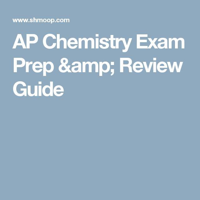 AP Chemistry Exam Prep & Review Guide