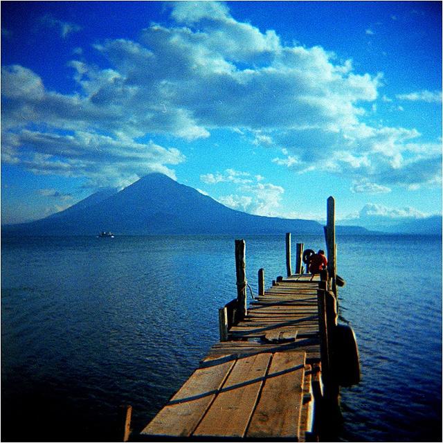 lago atitlan by thomasw., via Flickr