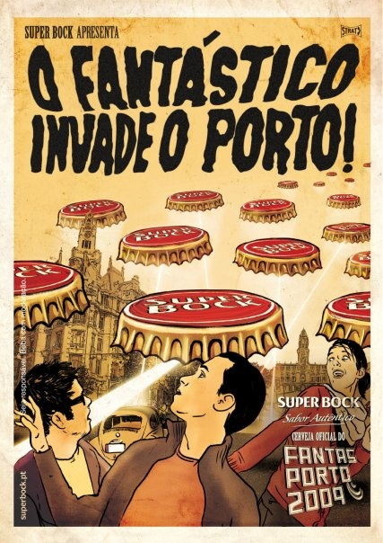 Poster - Super Bock - Aliados, Porto