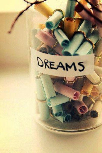 A jar of dreams