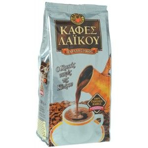 Greek Cyprus Traditional Laiko Gold Coffee 200g - Food From Cyprus