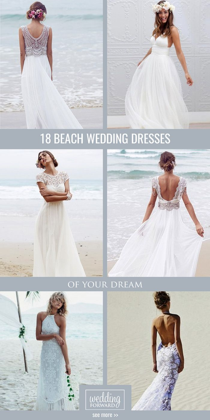 25 cute hawaiian wedding dresses ideas on pinterest hawaiian 30 beach wedding dresses perfect for destination weddings ombrellifo Gallery
