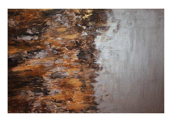 Untitled 30, 24x36, Acrylic on Canvas, 2011