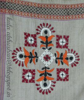 Art in Beads and Threads and more.............: The Beauty of Indian Embroidery - Kutchwork!