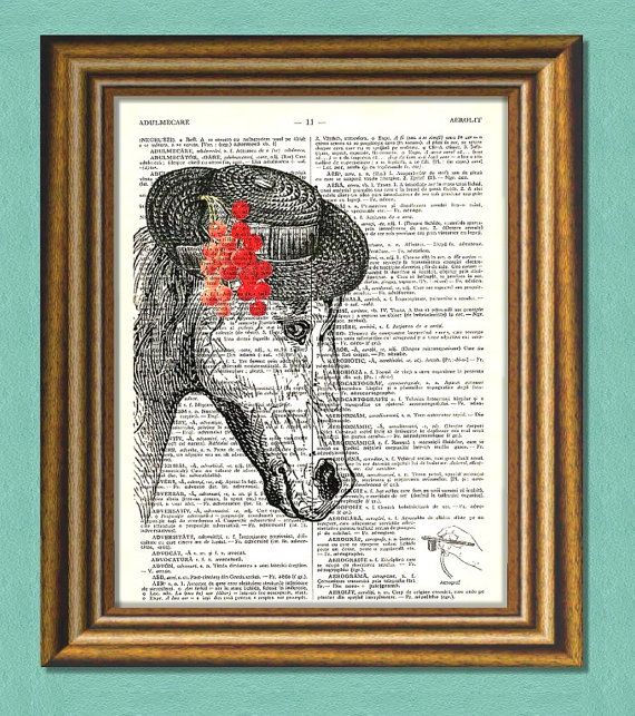AIN'T I PRETTY   Dictionary art print by littlevintagechest, $7.99