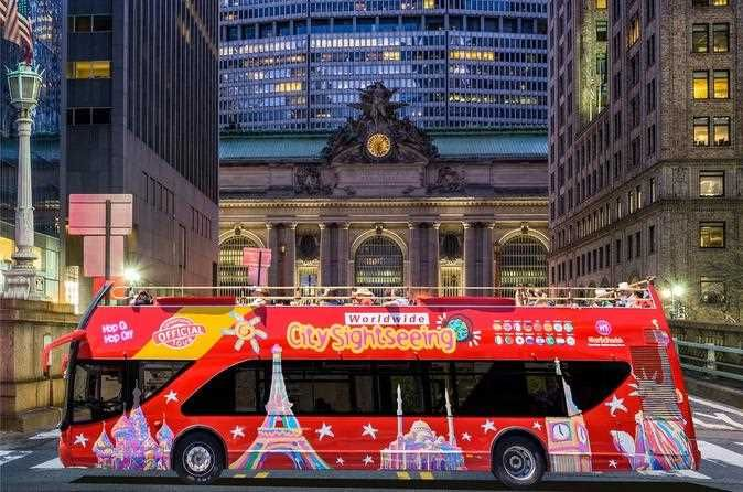 Citysightseeing City Bus Tour The Tour Guide From City Sightseeing Tour From New York City Streets In Bus Tour New York Travel Guide Tours New York Travel
