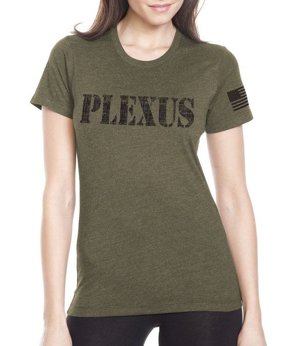 XXL Womens SLIM FIT Military Green Plexus by ShepherdDesignsInc
