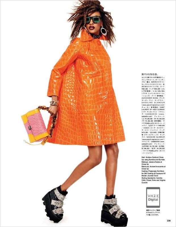 Jourdan Dunn for Vogue Japan by Giampaolo Sgura