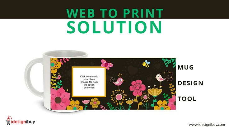 If you into #mug #business or running a #printing agency then you are the right place. Wondering why? #idesignibuy, offers ready-to-use mug #design #tool which can be integrated into any #ecommerce store allowing the user to #design the mug #product and get it ready for print. Build Strong #Customer Base right now - https://goo.gl/rcqzzH #print #designing #software #web2print #webtoprint
