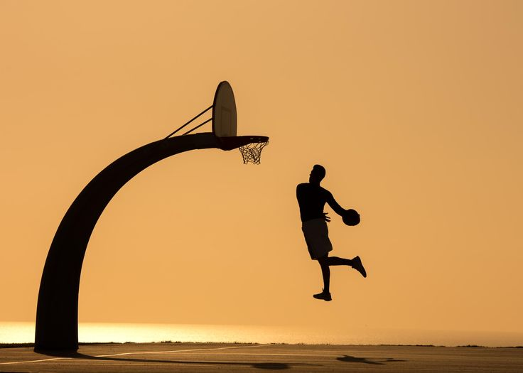 Photograph Dunking in the Sunset by Chad Joseph  Marquez  on 500px