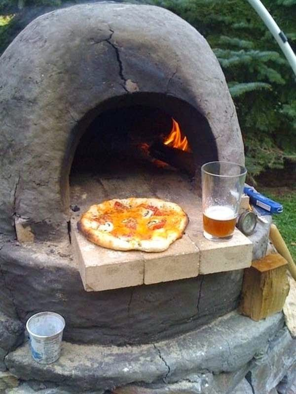 Having your own pizza oven in the back yard would be heaven
