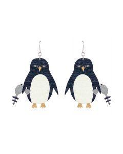 Lasergun penguin -korvakorut, eri värejä