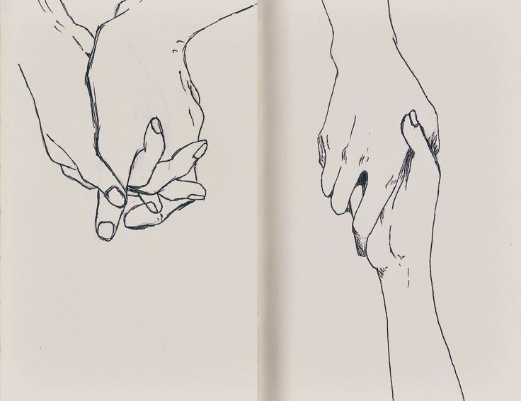 Line Drawing Holding Hands : The gallery for gt drawing of holding hands tumblr