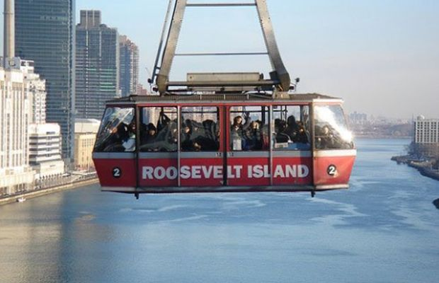 Riding the Roosevelt Island Tramway Neighborhood: Upper East Side Address: Map Website: rioc.com/transportation
