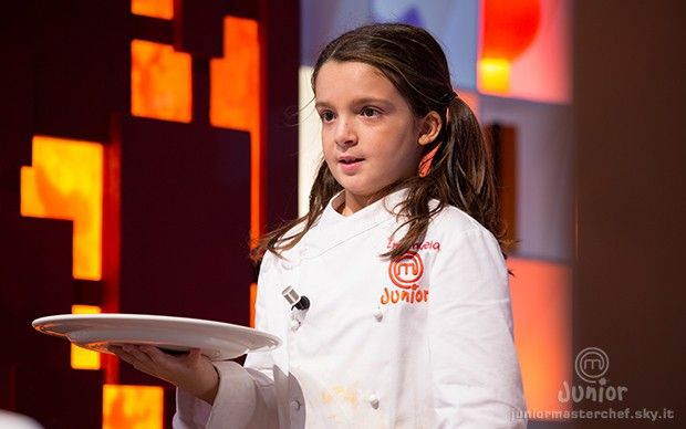 Emanuela presenta il suo piatto