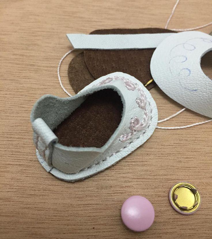 #обувьдлякукол #обувьизнатуральнойкожи #handmade #doll #artdoll