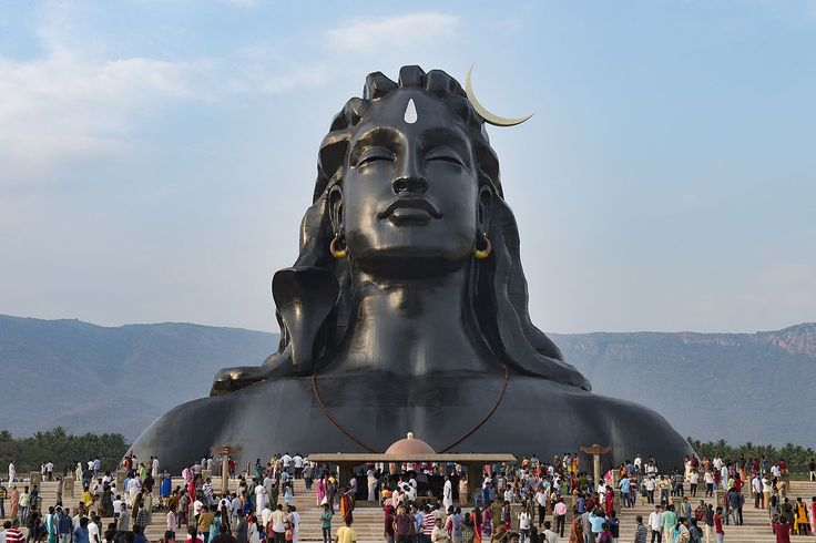 112 Feet, 500 Tonnes, Adiyogi Shiva statue, Completion date 24 February 2017 -  Isha Yoga Center - Coimbatore, India - Wikipedia