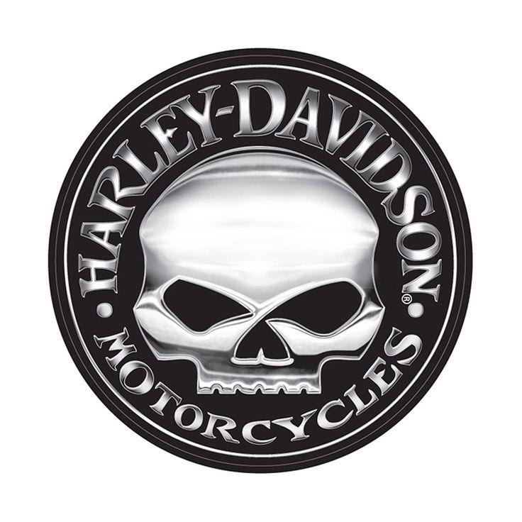 Willie G. for Harley Davidson Skull Logo
