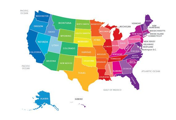 Pretty Much I Just Want To Hit All States And Those I Have - Pretty us map