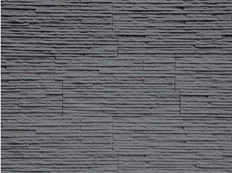 Revestimiento de pared 3D de piedra reconstituida para interiores MONTE BIANCO