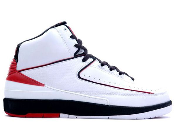 Air Jordan 2 (II) Retro - Black - White Varsity Red make sure the superb  quality of the shoe quite a lot.