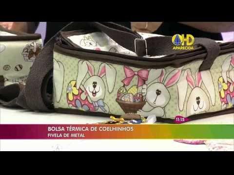 Bolsa Térmica de Coelhinhos - por Renata Herculano - YouTube