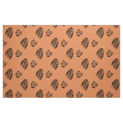 Male shoe print fabric