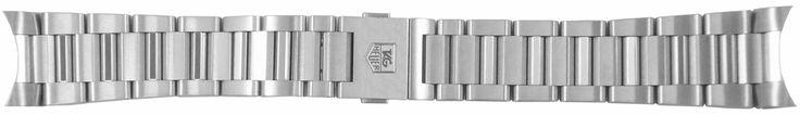 "TAG Heuer Carrera 20mm Steel Bracelet BA0723: ""BA0723 NEW TAG HEUER CARRERA CALIBRE 8 GMT 20MM MANUFACTURER… #Watches #Watch #LuxuryWatch"