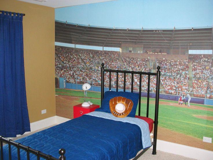 64 best Baseball Room images on Pinterest Bedroom ideas Boy