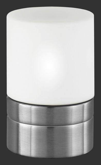 5908 - TRIO - dotyková lampa - biele matné sklo