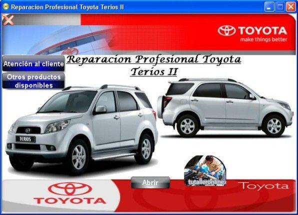 Manual De Taller Y Reparacion Daihatsu Terios J200 2006 2012 Daihatsu Terios Daihatsu Toyota