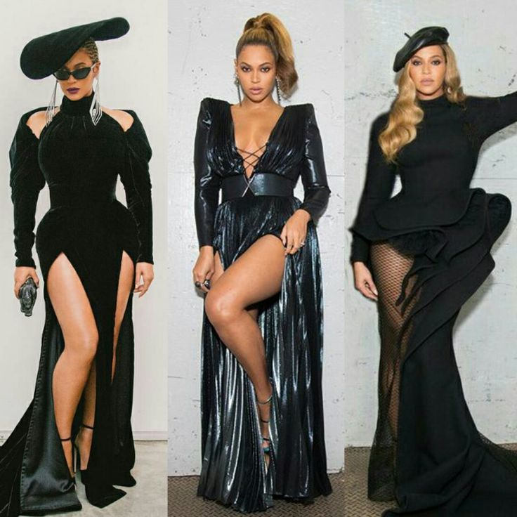 Beyoncé Grammy 2018 Outfits Inspired By The Black Panthers
