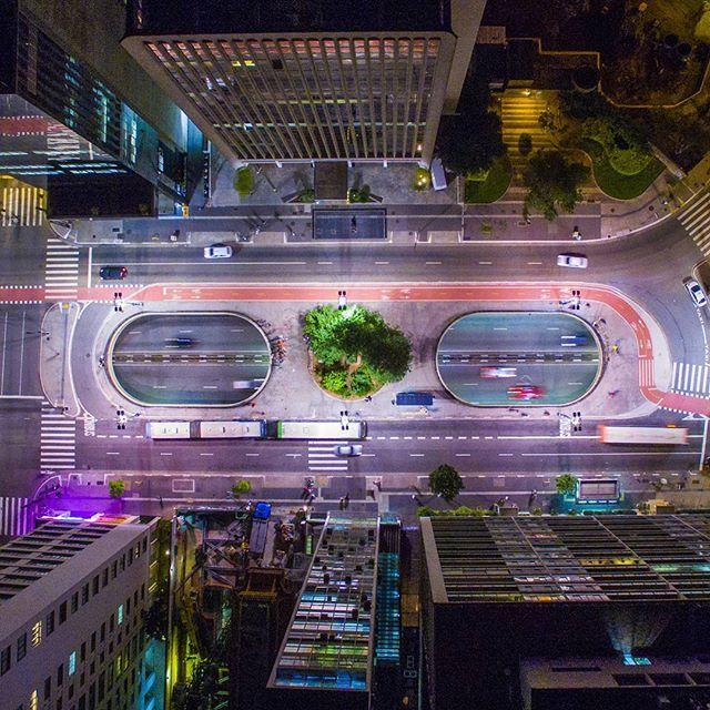 Av. Paulista - São Paulo, Brasil   Brasileiro clica imagens aéreas de São Paulo que vão te fazer olhar pra cidade de um jeito diferente   Nômades Digitais