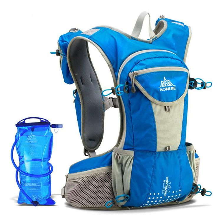 Nylon Running 12L Ultralight Hydration with 2L Water Bag