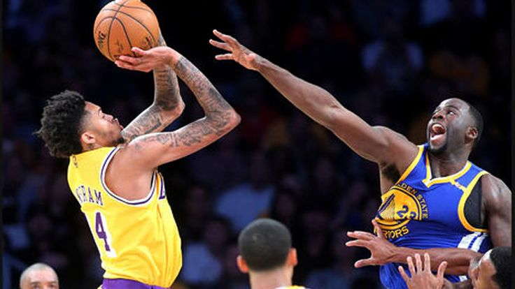 In a nationally televised game, the Lakers showed off some of the growth they've experienced in the last week. They beat the Warriors at their own game in a blowout win, 117-97.