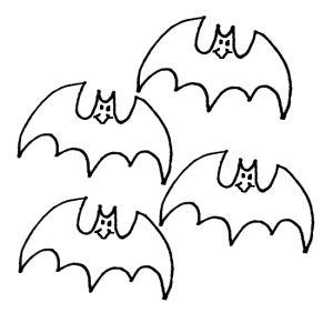 Bat Signal Coloring Page | Yarasalar, Anaokulu