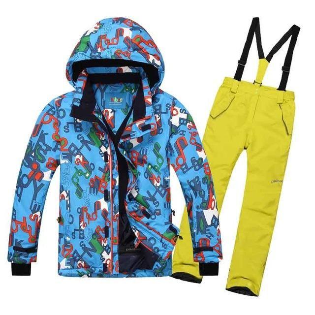 DETECTOR Warm Ski Snowboard Set - Kid's