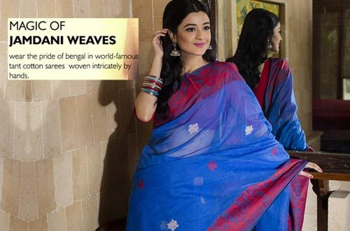 The #CottonSaree of #Bengal – #Tant