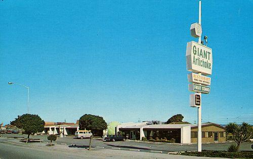 Giant Artichoke Restaurant, Castroville, California