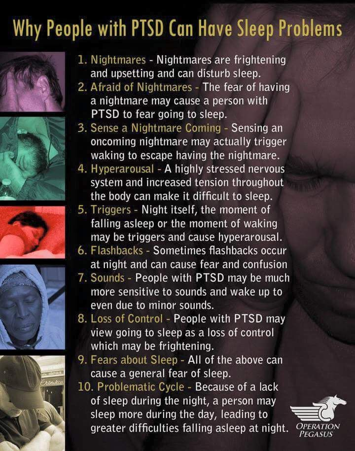 how to help someone with ptsd nightmares