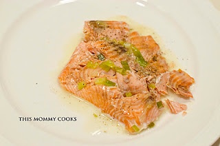 roasted salmon with white wine sauce | Favorite Recipes | Pinterest