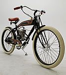 Motorized bicycles based on classic designsMotorcycles, Motors Bicycles, Bikes Stuff, Vintage Bikes, Bicycles Based, Vintage Motors, Ridley Vintage, Motors Bikes, Bikes Projects